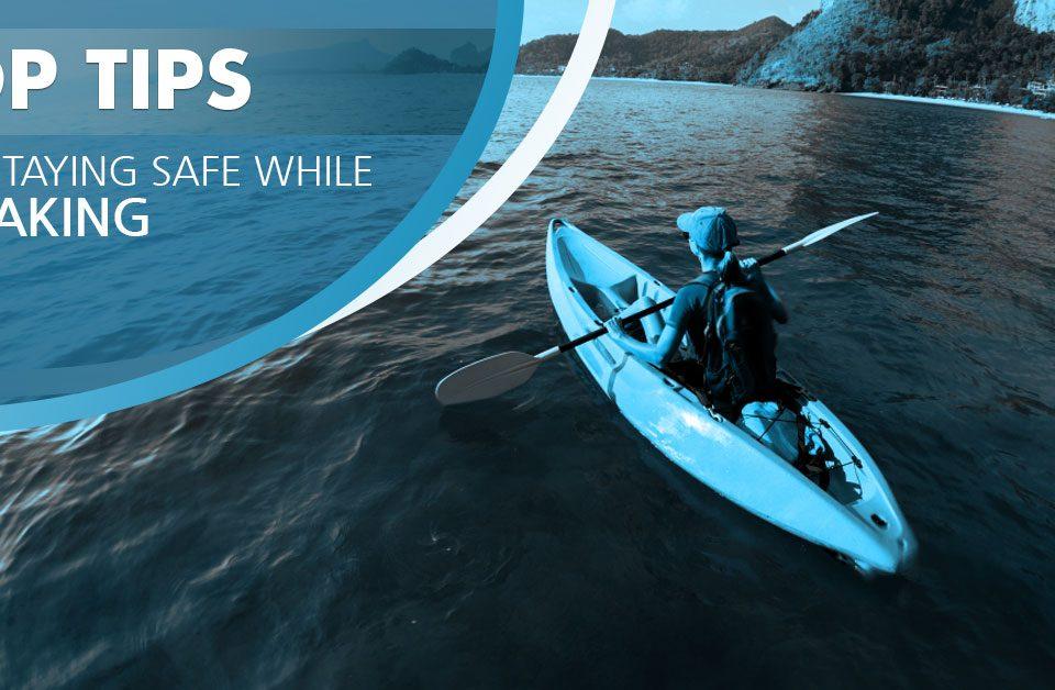 staying safe while kayaking