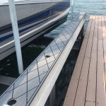 refinishes boat lift