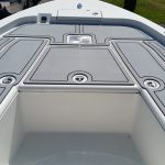 installation of u-dek boat flooring