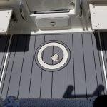 black and gray boat plank alternative