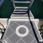 gray diamond foam boat decking
