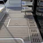 floor for house boat gray
