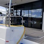 refloored yacht anti slip gray