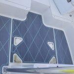 diamond pattern boat deck