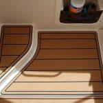teak on boat
