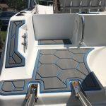 hex boat decking pattern