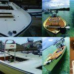 restored boat teak