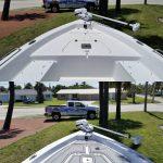 custom decked boat