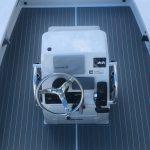 center console boat flooring
