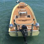 boat with custom decking