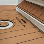 faux teak boat decking
